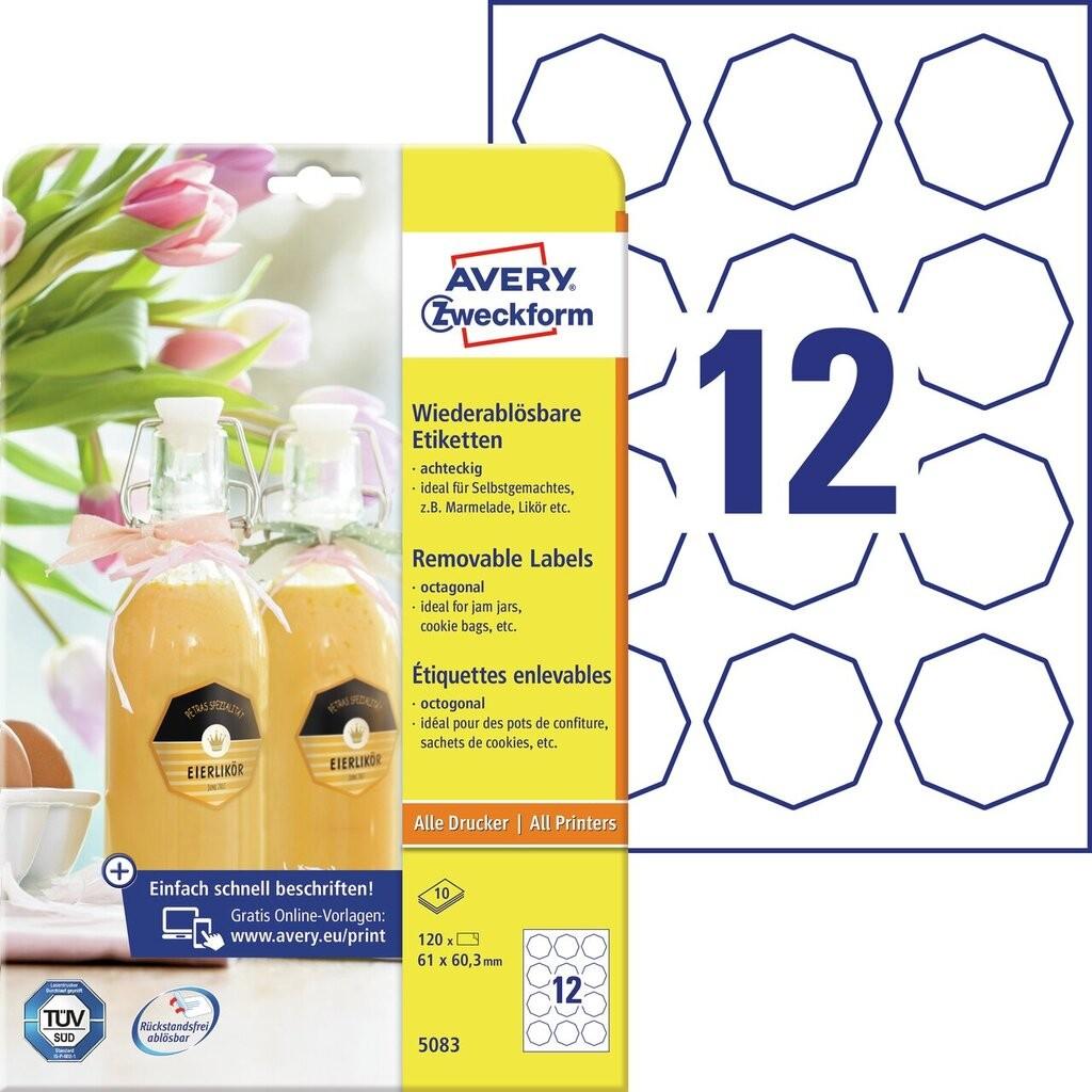 Flaschenetiketten | 5083 | Avery Zweckform